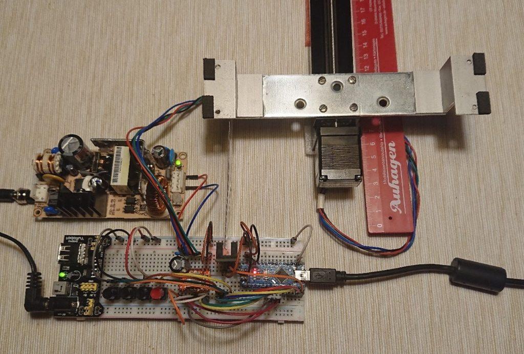 Elektronika pohonu - pokus