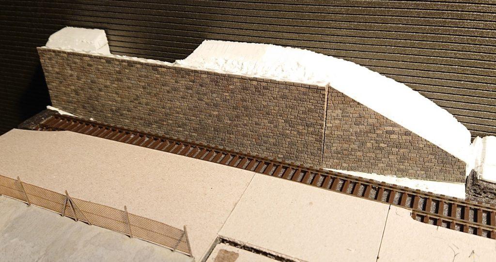 Opěrná stěna z polotovaru KB Model